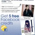Free Facebook Credits from Debenhams