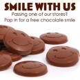 Get a Free Chocolate Smile when you visit a Thorntons store