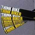 Free THINK BIKE car window sticker