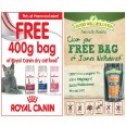 FREE Royal Canin or James Wellbeloved Cat Food